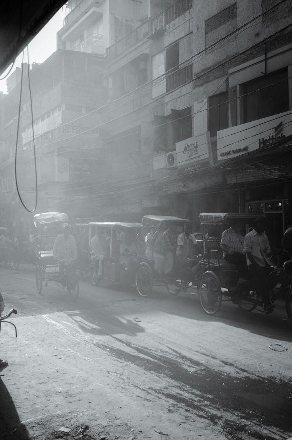 Old Delhi streets