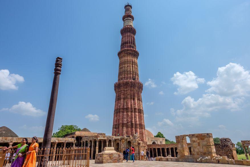 Iron Pillar of New Delhi and Qutub Minar