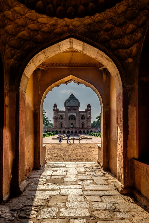 Safdarjung's Tomb with gate