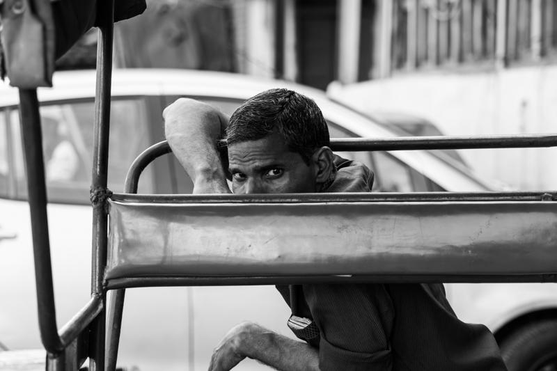 Rickhaw puller