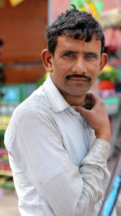 A shopper in the market