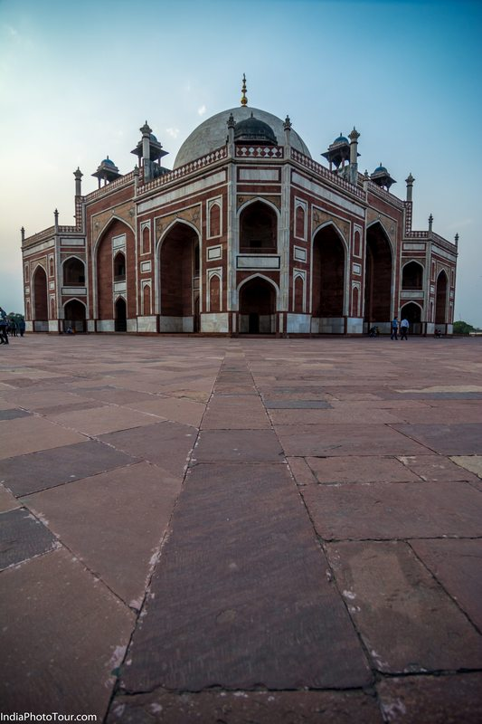 Humayun's Tomb Photography angle