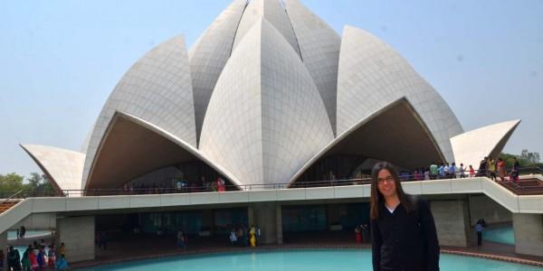 Lotus temple photo tour