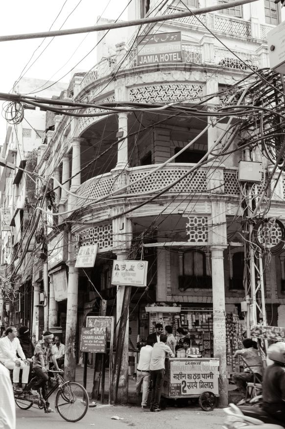 A old building in Old Delhi