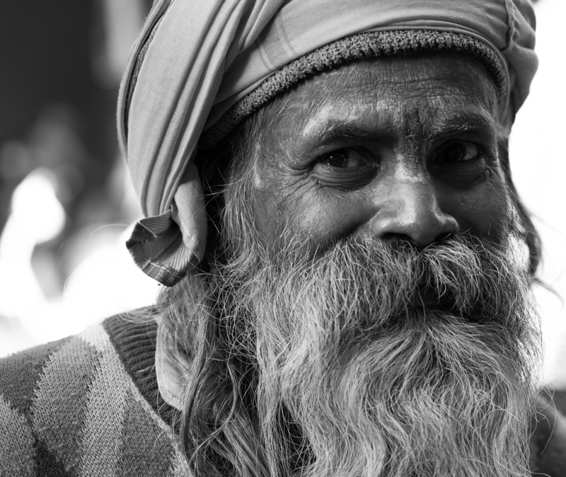A old man on the street