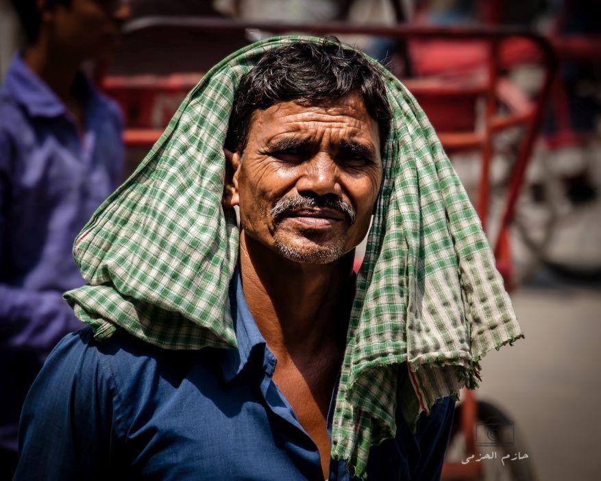 A local labourer