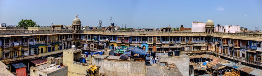 Market rooftop