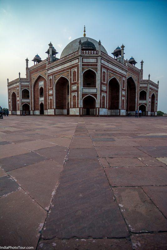Humayun's Tomb Photography angle