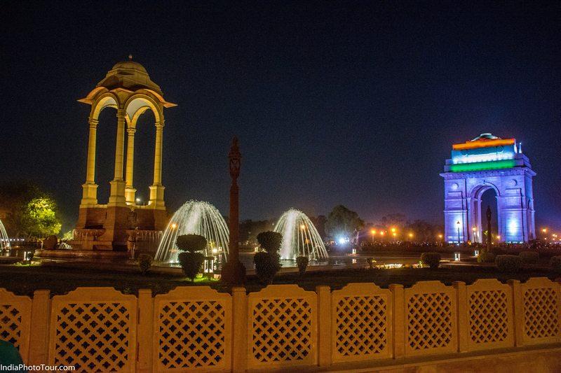 India Gate Night Photography